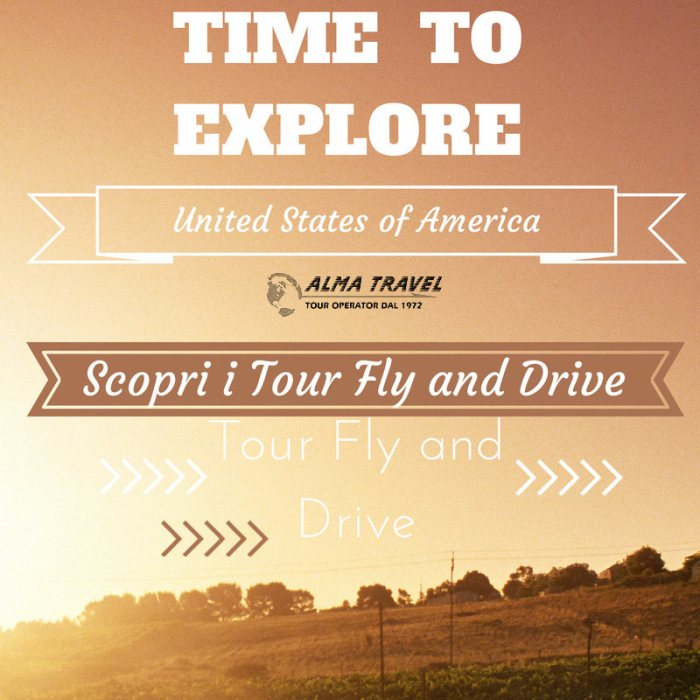 tour fly and drive usa